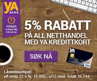 yA Bank kredittkort